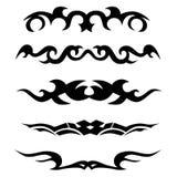 Patroon Ontwerp tatoegering Stock Foto
