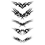 Patroon Ontwerp tatoegering Stock Foto's