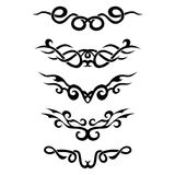 Patroon Ontwerp tatoegering Stock Afbeelding