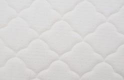Patroon op de witte matras Royalty-vrije Stock Fotografie