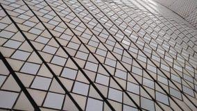 Patroon op de zeilen van Sydney Opera House Stock Foto