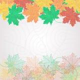 Patroon op een grijze achtergrond Royalty-vrije Stock Afbeeldingen