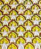 Patroon op een muur Royalty-vrije Stock Fotografie