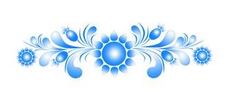 Patroon op een witte achtergrond Royalty-vrije Stock Foto