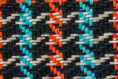 Patroon op fabric stock foto