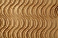 Patroon op houten triplexachtergrond die wordt gesneden Stock Foto