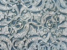 Patroon op oude muur Royalty-vrije Stock Foto