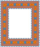 Patroon, populair motief, regelmatig motief, tafelkleed, beeld royalty-vrije stock afbeeldingen