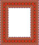 Patroon, populaire motieven, tapijt, tafelkleed Stock Foto