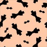 Patroon seamles vlinderdas Royalty-vrije Stock Foto's