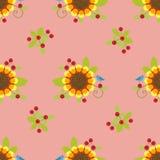 Patroon sun3 Royalty-vrije Stock Afbeeldingen