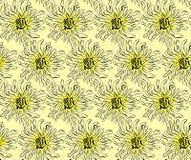 Patroon van abstracte bloemen Royalty-vrije Stock Fotografie