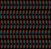 Patroon van abstracte cijfers stock illustratie