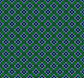 Patroon van achthoekige sterren royalty-vrije illustratie