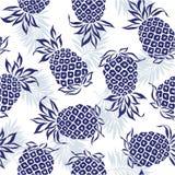 Patroon van ananas Stock Afbeelding