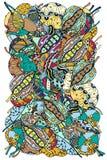 Patroon van bladeren Royalty-vrije Stock Foto
