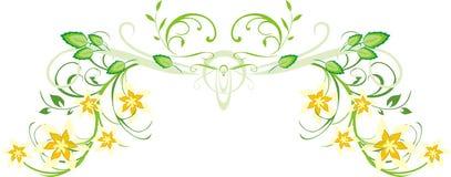 Patroon van bloemenornament voor decor Royalty-vrije Stock Foto