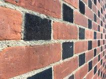 Patroon van brickwall Stock Afbeeldingen