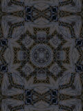 Patroon van caleidoscoop abstract grijs patroon Royalty-vrije Stock Afbeelding