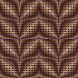 Patroon van cirkels en ovalen 3 royalty-vrije illustratie