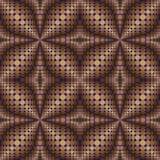 Patroon van cirkels en ovalen 2 stock illustratie