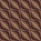 Patroon van cirkels en ovalen 1 stock illustratie