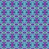 Patroon van de achtergrond het Naadloze Bandkleurstof Royalty-vrije Stock Afbeelding