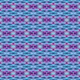 Patroon van de achtergrond het Naadloze Bandkleurstof Royalty-vrije Stock Afbeeldingen
