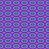 Patroon van de achtergrond het Naadloze Bandkleurstof Royalty-vrije Stock Fotografie