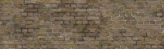 Patroon van de achtergrondclinker baksteen het naadloze aard vector illustratie