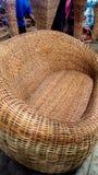 Patroon van de bamboe het uitvoerende stoel Royalty-vrije Stock Fotografie