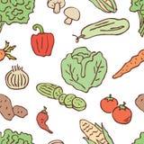Patroon van de diverse groenten Stock Foto