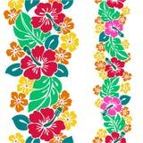 Patroon van de Hibiscus stock illustratie
