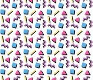 Patroon van de jaren '90 Retro Vorm vector illustratie
