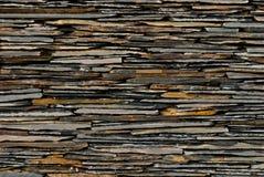 Patroon van de muur van de Steen van de Lei Stock Foto's