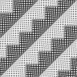 Patroon van de ontwerp het naadloze diagonale zigzag Royalty-vrije Stock Afbeeldingen