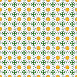 Patroon van de ontwerp het naadloze kleurrijke bloem Stock Afbeeldingen