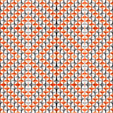 Patroon van de ontwerp het naadloze kleurrijke diamant Royalty-vrije Stock Afbeeldingen