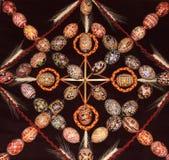 Patroon 02 van de paaseiereninzameling Royalty-vrije Stock Afbeelding