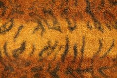 Patroon van de stoffentextuur van het tijgerbont voor achtergrond royalty-vrije stock afbeeldingen