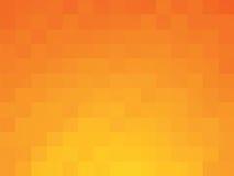 Patroon van de vierkanten het oranje zomer Royalty-vrije Stock Fotografie