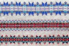 Patroon van de winterkleding Royalty-vrije Stock Afbeeldingen