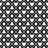 Patroon van de Zwart-witte Lijst van de Stoffenpook Stock Afbeeldingen