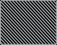 Patroon van diamanten op een zwarte achtergrond stock illustratie
