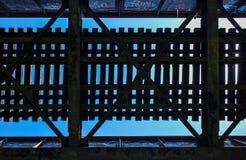 Patroon van een brug lucht Royalty-vrije Stock Fotografie
