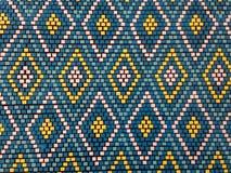 Patroon van een kleurrijk mozaïek in oostelijke stijl Royalty-vrije Stock Afbeelding