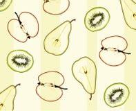 Patroon van fruit stock illustratie