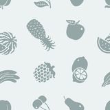 Patroon van fruit Royalty-vrije Stock Afbeeldingen