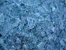 Patroon van gebroken glas Stock Afbeeldingen