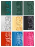 Patroon van geometrische vorm Royalty-vrije Stock Foto